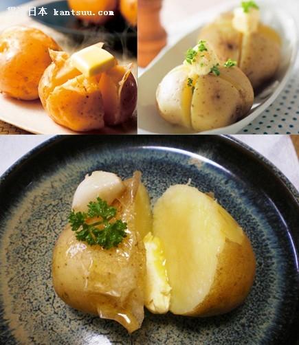 北海道乡土料理:土豆黄油图片