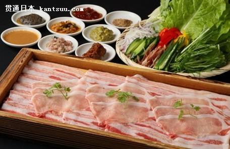 鹿儿岛美食 涮猪肉
