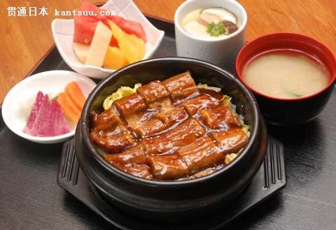 日本鳗鱼盖饭
