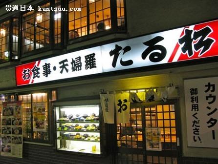 上野阿美横丁的天妇罗平民餐厅