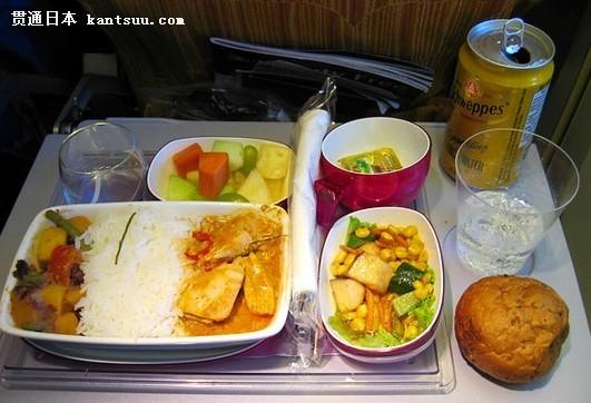 全日空阿联酋 来自3万英尺高空的美食诱惑