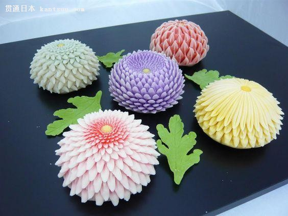 高颜值的日本甜品 美出了一个天际